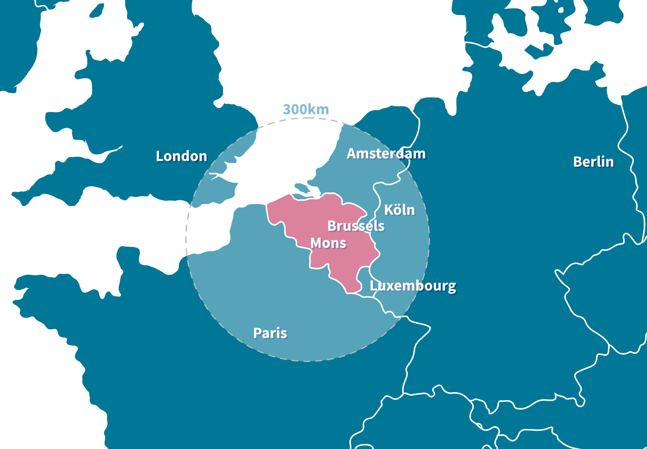 Localisation de la société Dequachim